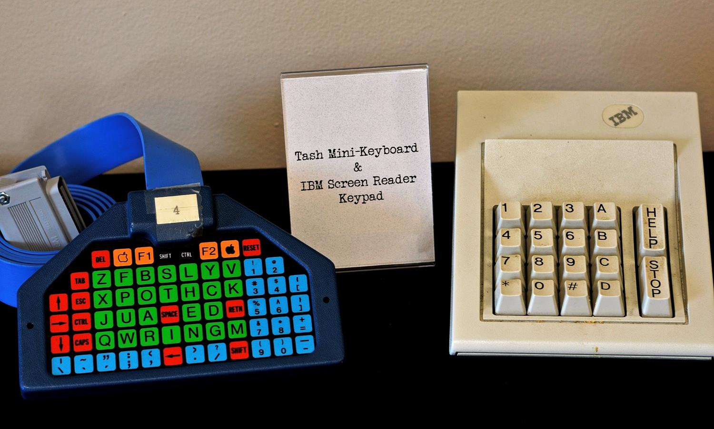 TASH Mini Keyboard and IBM Screen Reader Keypad<br />