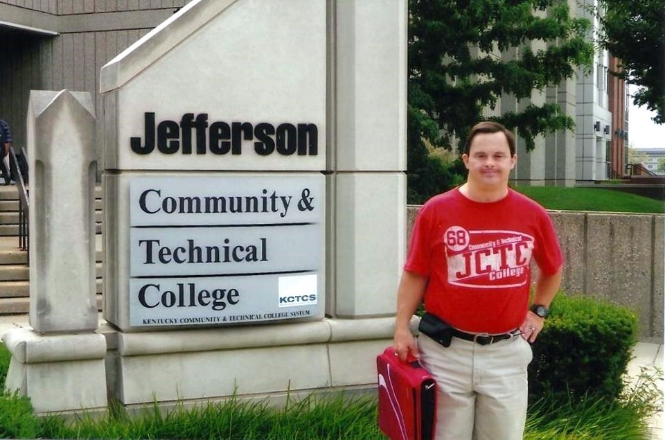 Mark Hublar at Community College