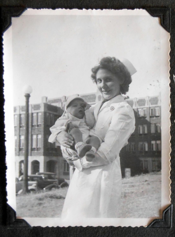 Thomas Hancock with Nurse at General Hospital