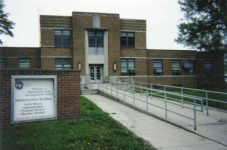 Muscatatuck State Developmental Center Administration Building&lt;br /&gt;<br /><br />