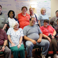Self-Advocates of Indiana Board of Directors in 2002