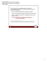 Educator Guide: Teacher Notes Lesson 4