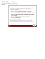 Educator Guide: Teacher Notes Lesson 2