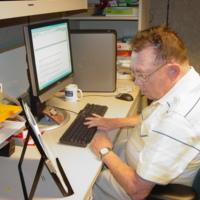 Jim McCorkle at Computer