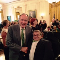 Greg Fehribach with Senator Tom Harkin