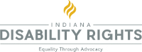 logo of Indiana Disablility Rights>